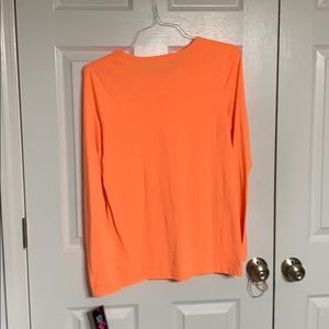 Sivvan Tops - Orange long sleeved tee